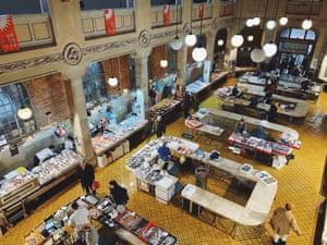 Rijeka's indoor fish market.