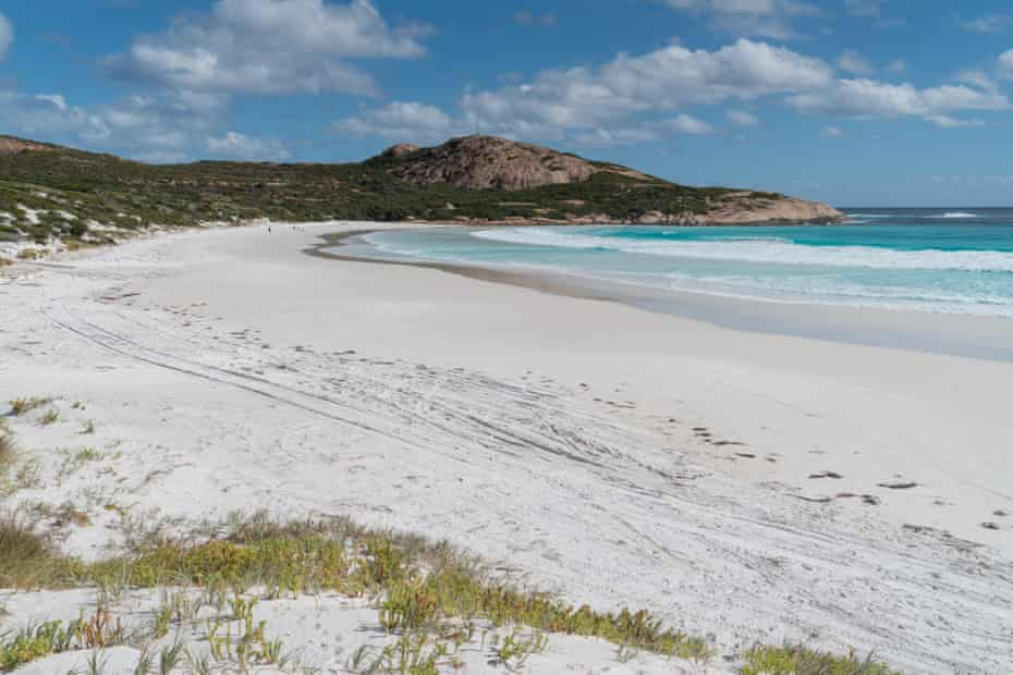 White Wharton beach in Cape Le Grand national park, Western Australia