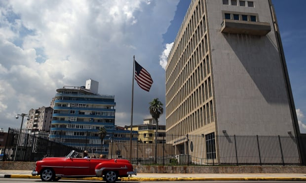 The US State Department claims that at least 16 individuals have been affected by unexplained health problems at their Havana embassy.