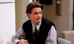 Matthew Perry as Chandler Bing in Friends.