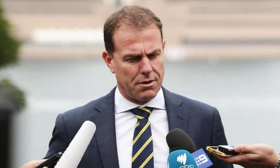 Stajcic speaks to the media during the Matildas' Governor-General farewell function and captain announcement at Admiralty House on 18 May.