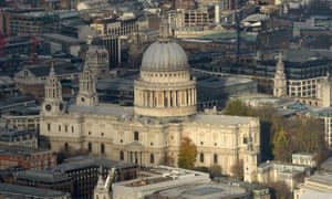 St Paul's Cathedral was closed for the day after the woman's fall.