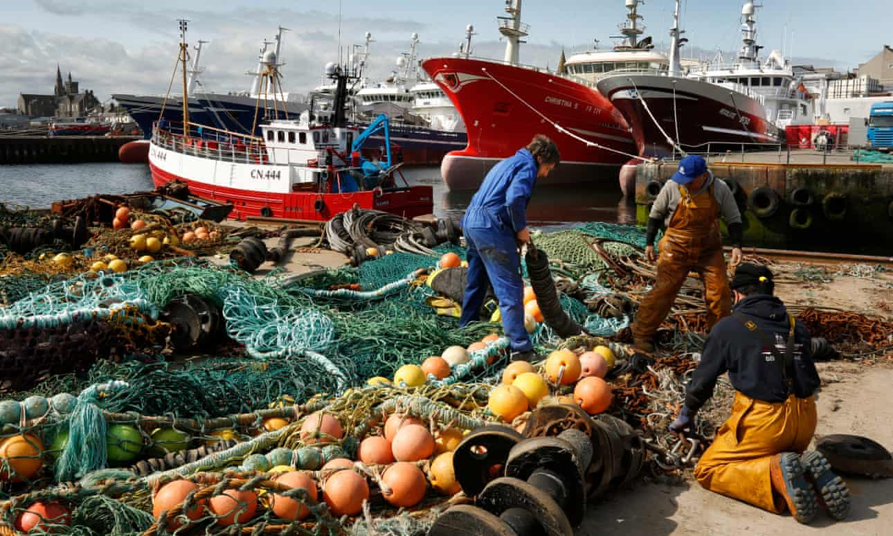 The Scottish fishing industry was made a touchstone by Leave campaigners.