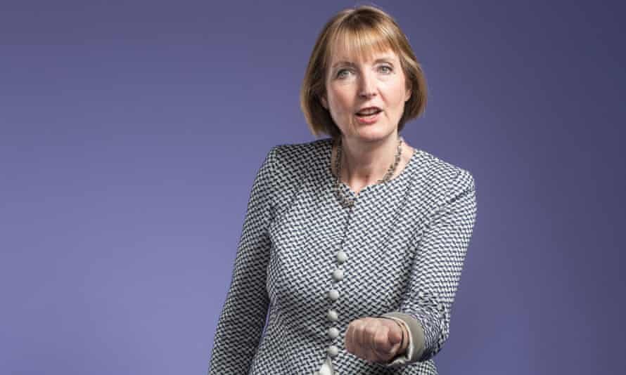 Harriet Harman, the acting Labour leader.