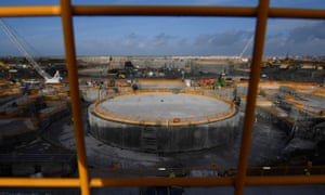 Construction at Hinkley Point C