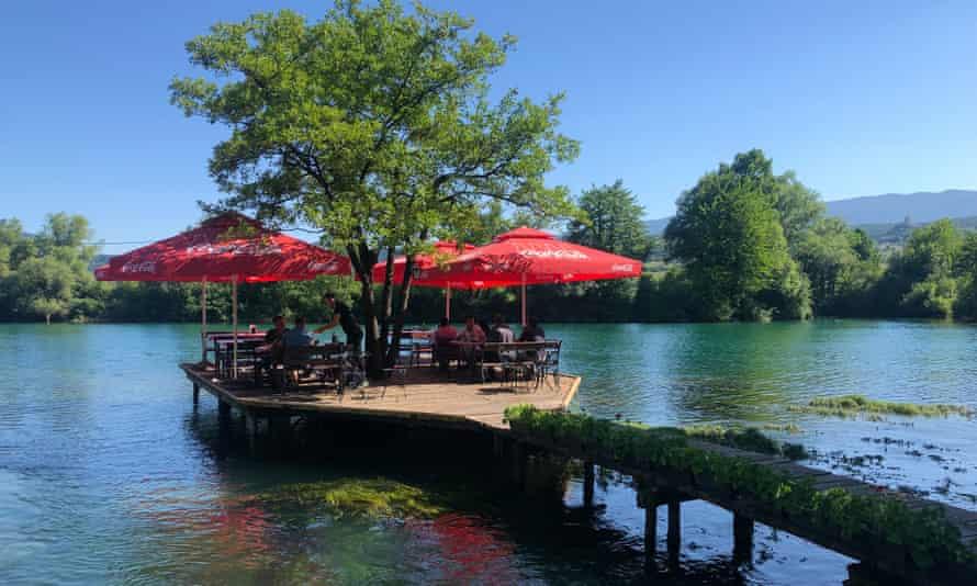 Mlin Restaurant on the Una river.