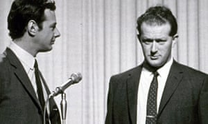 Tony Barrow, right, with Brian Epstein, manager of the Beatles, in 1966, a year in which Barrow's skills as the group's press officer were at their height.
