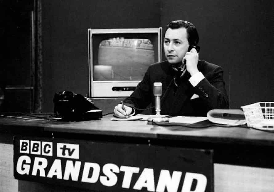 David Coleman on Grandstand in 1959.