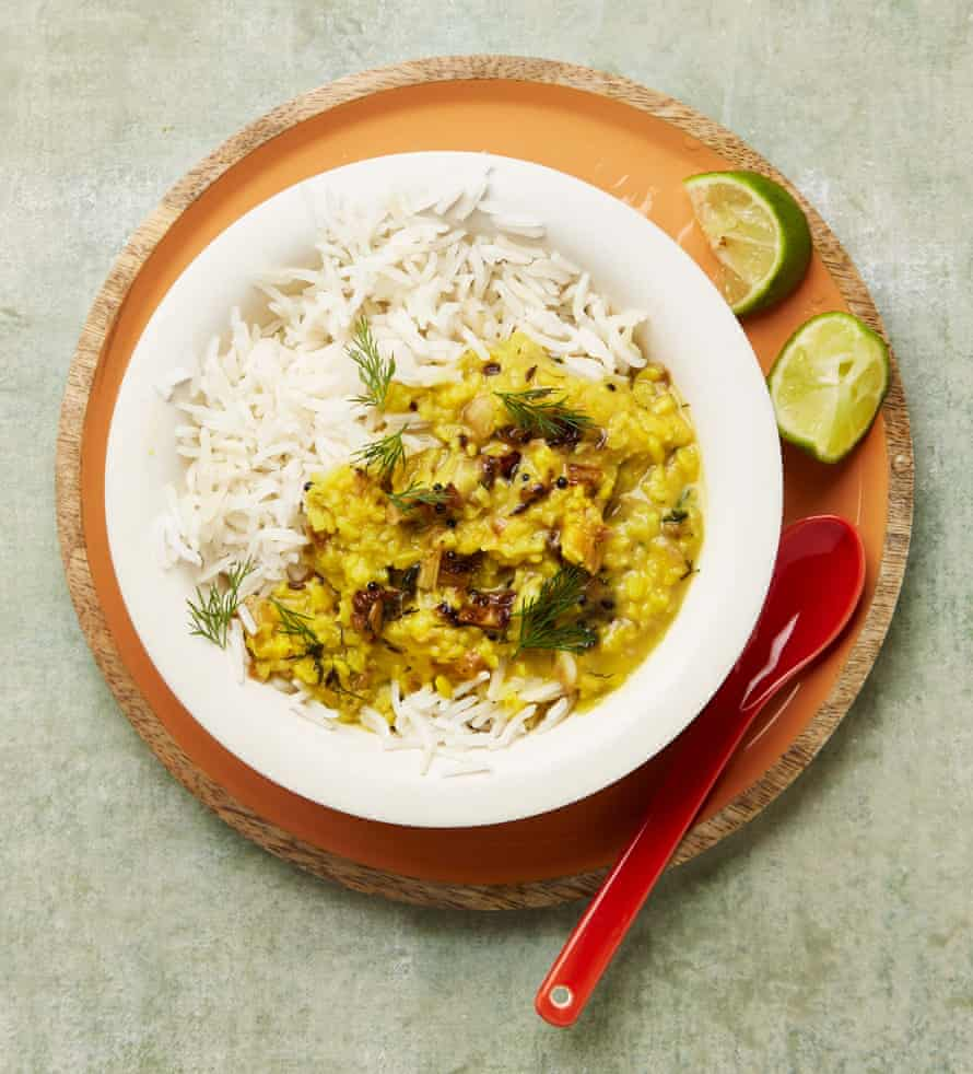 Meera Sodha's fennel and dill dal.