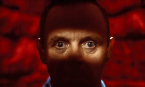 An uproarious technical triumph … Anthony Hopkins as Dr Hannibal Lecter.