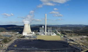 A general view of the Mt Piper coal fired power station near, Lithgow, NSW
