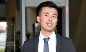 Khong Tam Thanh, 22, was charged along with Michael Le and Vu Thai Son for sexually assaulting a woman during a stag party in Singapore.