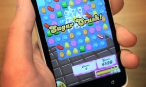 Candy Crush makes up a third of revenues for King Digital.