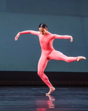She makes movement glow … Francesca Hayward in Night of 100 Solos.