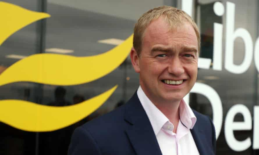 Liberal Democrat leader Tim Farron will not support Brexit unless there is a second referendum on the deal.