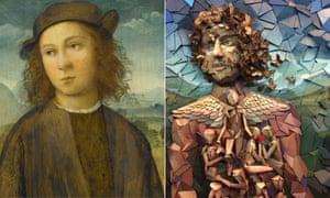 Agnolotti di Domenico Del Mazziere's Portrait of a Boy reinterpreted as Soul of a Boy by Tomaso Albertini.