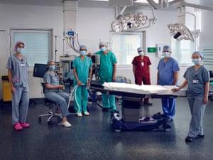 Barnet hospital operating theatre