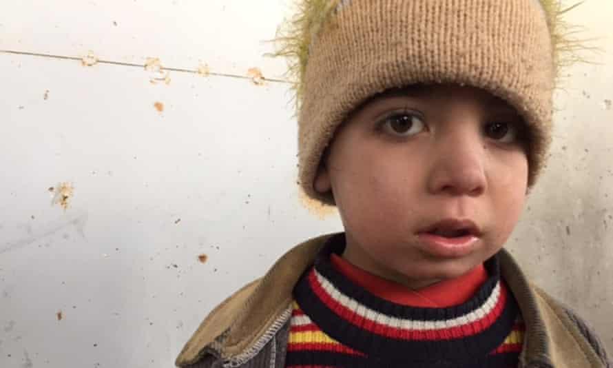 A child in Jibreen
