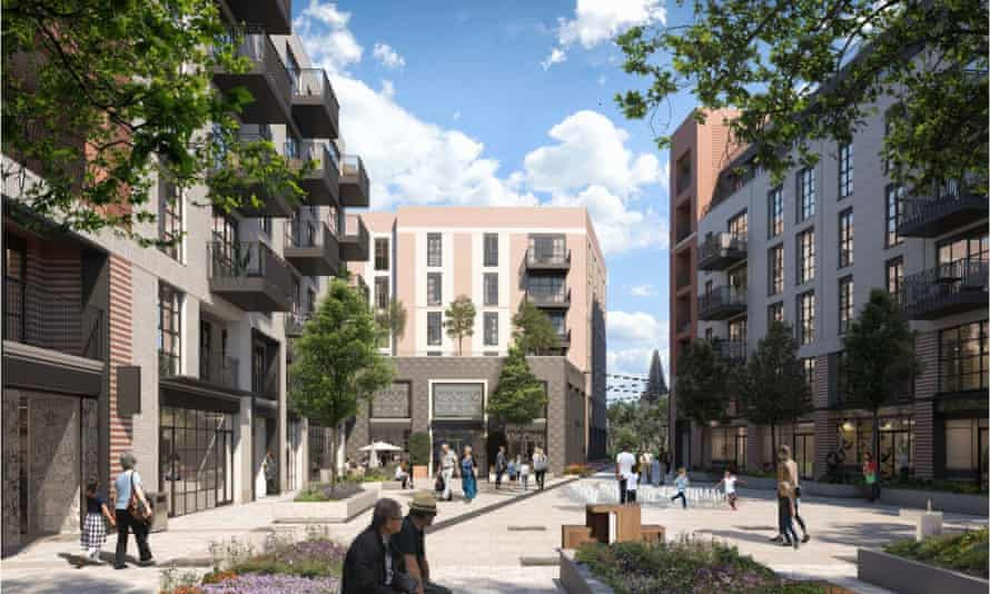 Another artist's impression of the planned Retirement Villages Group apartments in West Byfleet.