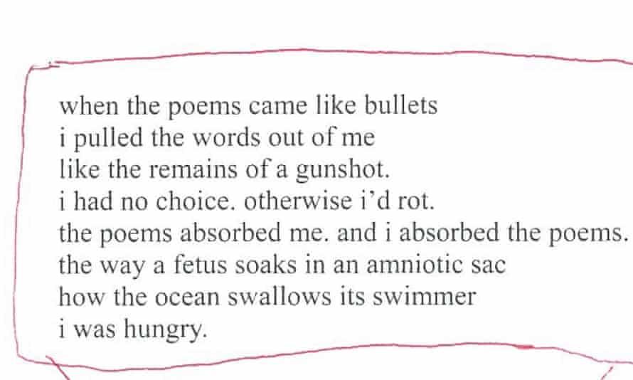 A poem from Rupi Kaur's new anthology.