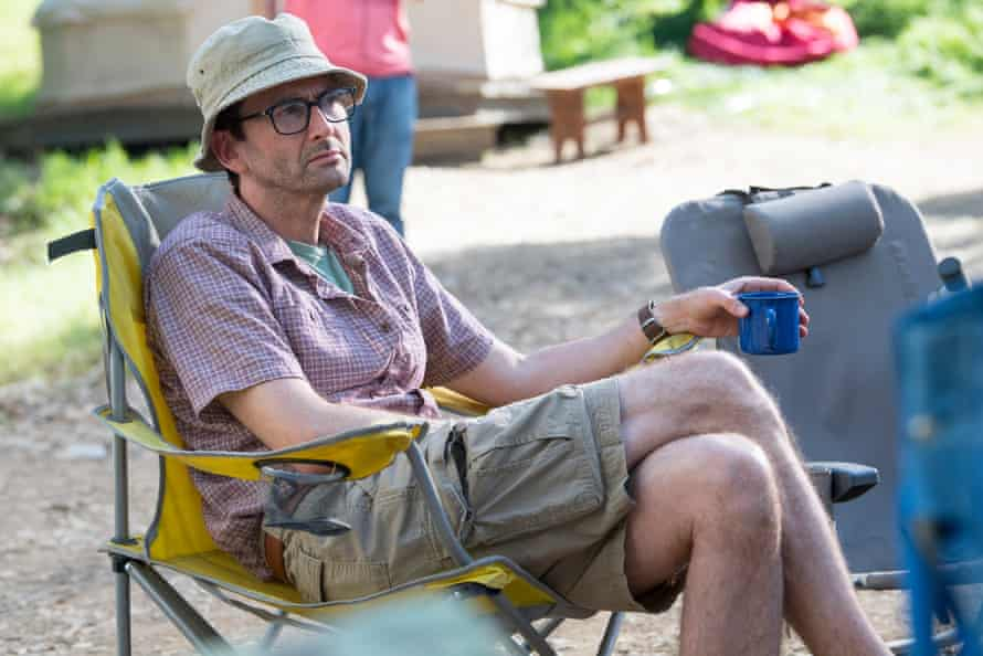 Tennant in HBO's version of Camping.