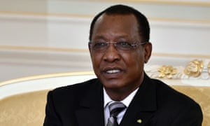 Chad's president, Idriss Deby Itno. Chad was added to the list of countries affected by Trump's travel ban because it ran out of passport paper, US officials say.