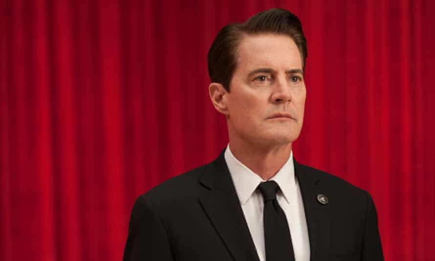 A modern fairytale written on LSD – then heavily redacted by the CIA … Kyle MacLachlan as Special Agent Dale Cooper in Twin Peaks.