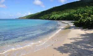 carlos rosario beach on isla culebra island