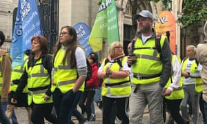 Friends of Lyra McKee walking from Belfast to Derry