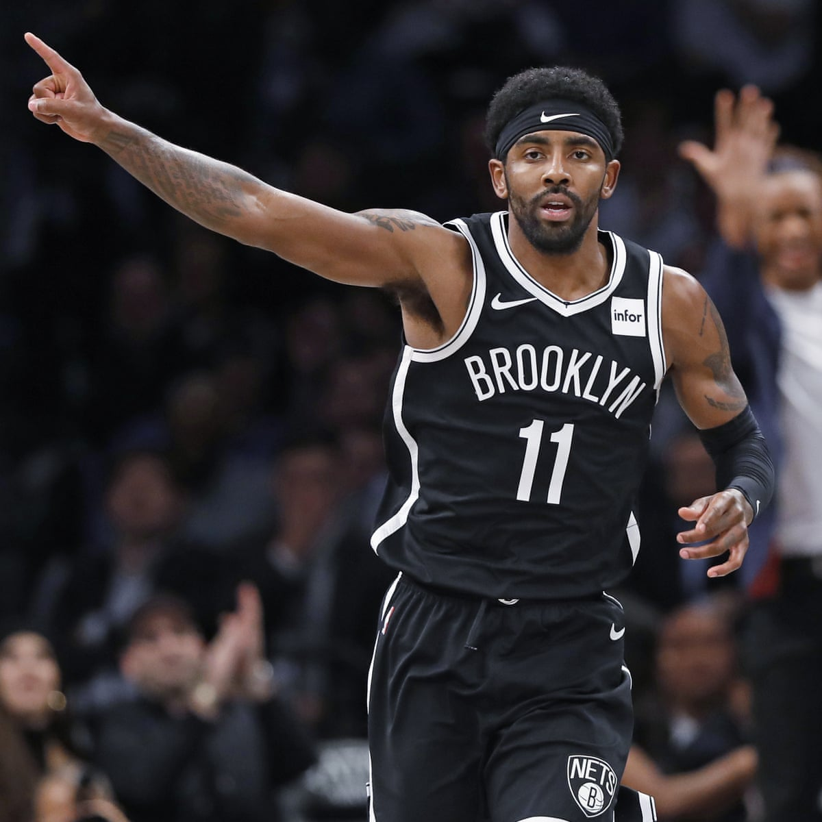Kyrie Irving goes for 50 in Nets debut but misses winner as Wolves escape |  NBA | The Guardian