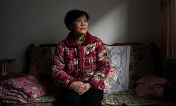 Zheng Ruixia, mother of Zhao Wei, who has been detained since 10 July 2015 in the recent crackdown on human rights lawyers in China.