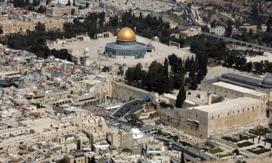 Haram al-Sharif Temple Mount.'