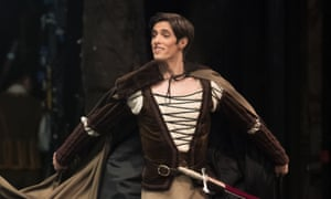 Xander Parish as Albrecht in Giselle at the Coliseum.
