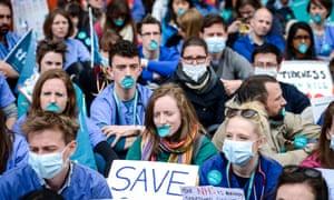 Junior doctors' protest
