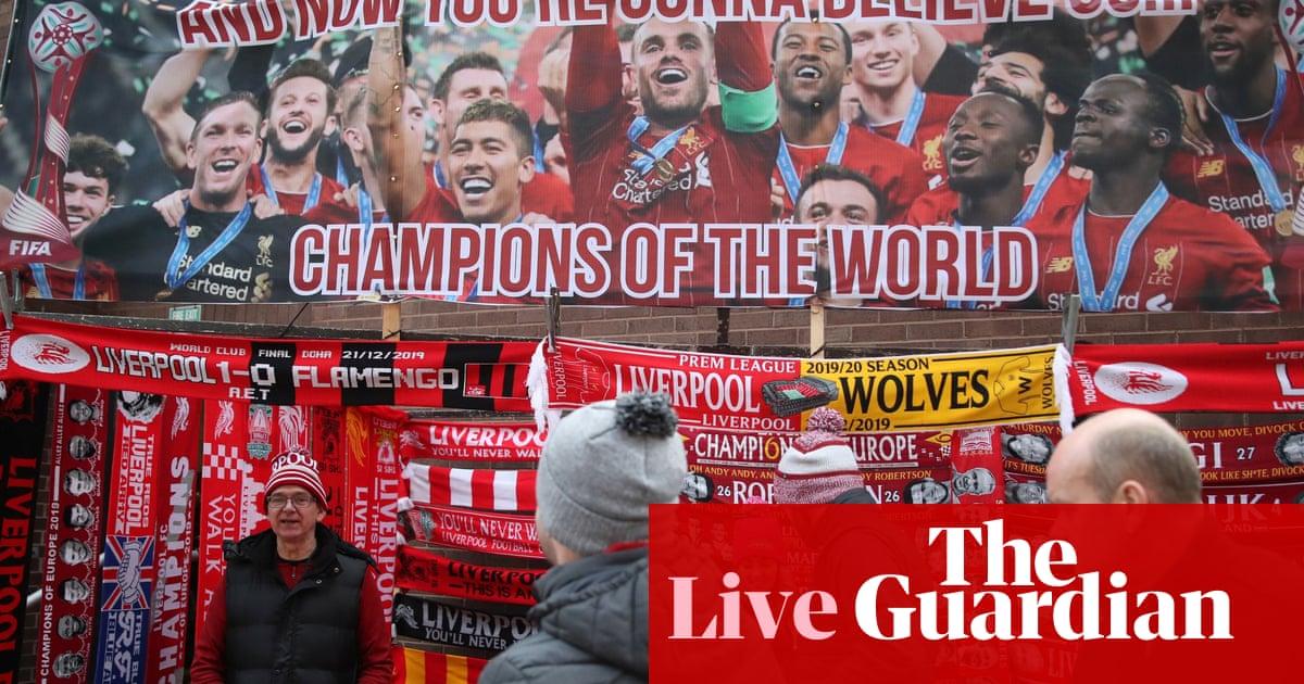 Liverpool v Wolves: Premier League – live!