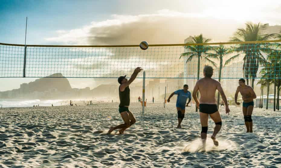 Leme Beach, Copacabana.