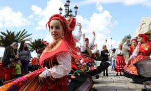 Dancing in Ponte de Lima