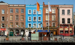 Dublin city centre. Rents have now surpassed their pre-crisis peak in the Irish capital.