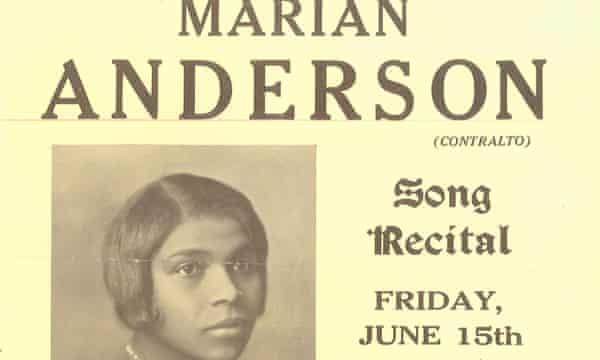 Marian Anderson Wigmore flyer