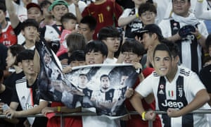 South Korean fans turned up to watch Cristiano Ronaldo in Seoul but Juventus kept their hero on the bench.