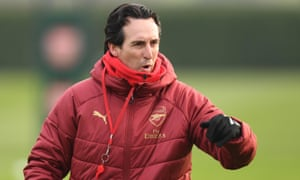 Arsenal's manager, Unai Emery, said of the January transfer window: 'We cannot sign permanently.'
