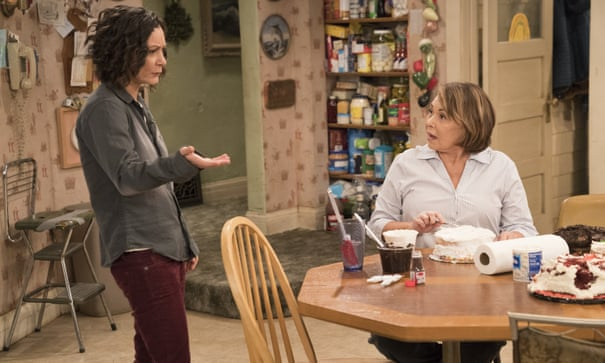 theguardian.com - 'She destroyed my life': Roseanne Barr blames co-star Sara Gilbert for sitcom's demise   Television & radio