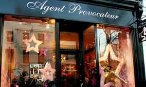 The Agent Provocateur store in London's Soho.