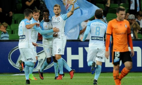 Depleted Melbourne City come back to earn draw against Brisbane Roar