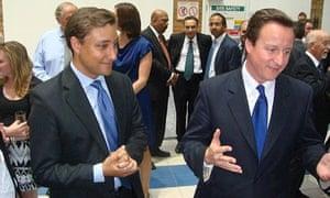 Mark Clarke and David Cameron