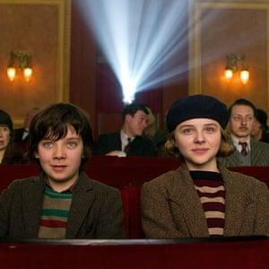 In Martin Scorsese's Hugo with Chloë Grace Moretz.