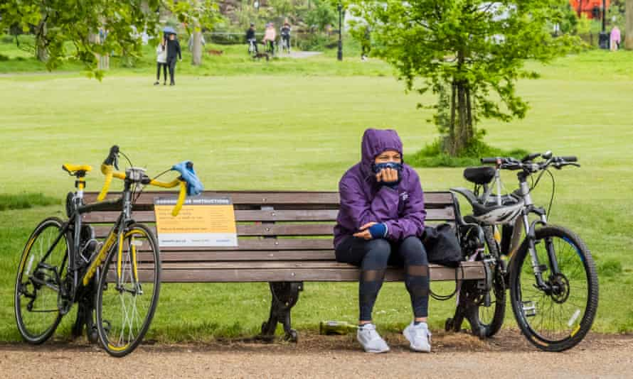 Clapham Common, in London, on 3 May.