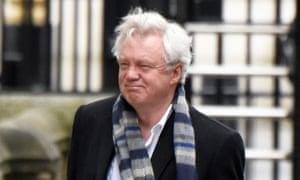 David Davis, the Brexit secretary.