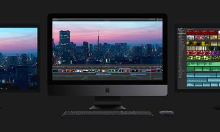 The new iMac Pro.