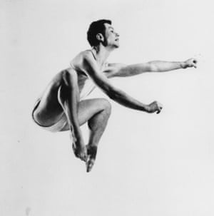 Tribute … Merce Cunningham in 1952.
